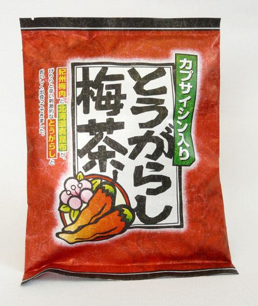 マン・ネン とうがらし梅茶 (2g×24袋入) 5袋...