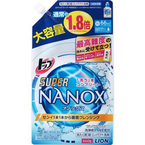 トップ スーパーNANOX(ナノックス) つめかえ用 大...