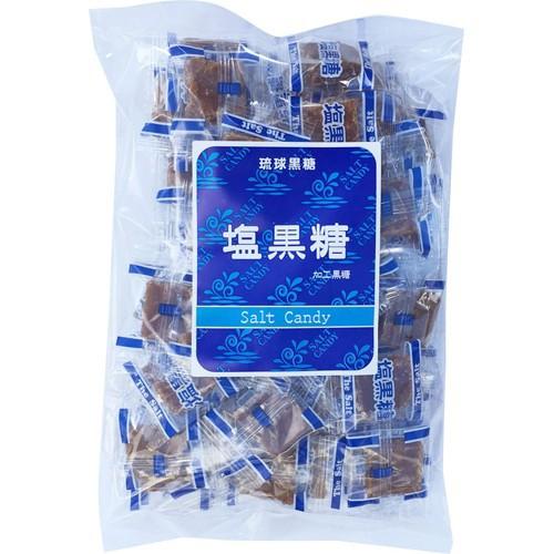 琉球黒糖 塩黒糖 300g