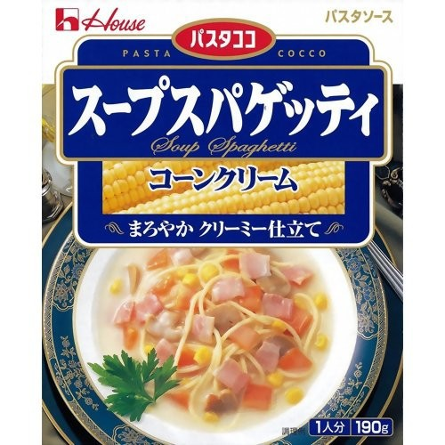 スープスパゲッティ コーンクリーム 190g