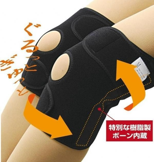 かるがる膝ベルト 2枚組