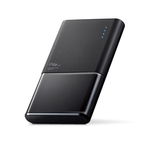 エレコム モバイルバッテリー 薄型 おまかせ充電...