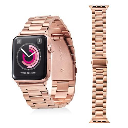 エレコム Apple Watch 38mm ステンレスバンド 3連...
