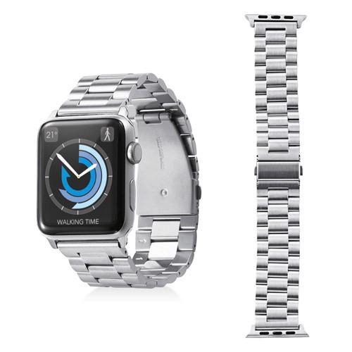 エレコム Apple Watch 42mm ステンレスバンド 3連...