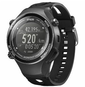 EPSON GPS機能搭載ウオッチ 「WristableGPS」 GPS...