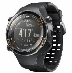 EPSON GPS搭載ウオッチ WristableGPS GPS・脈拍・...