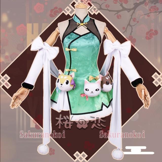 少女前線 ART556 風 チャイナドレス コスプレ衣装...