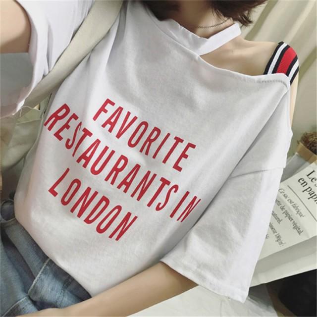レディース トップス Tシャツ 半袖Tシャツ カット...