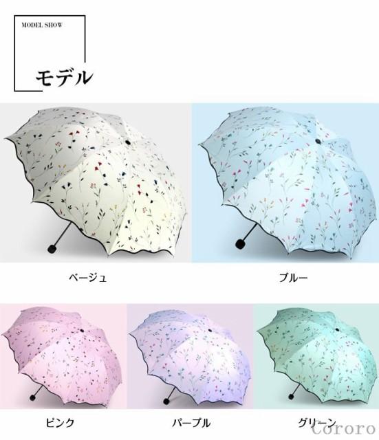 日傘 折りたたみ UV 遮光効果 遮光 軽量折り畳み...