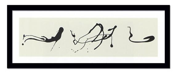 Pollock/Zeichnung trpftechnik/  絵画 壁掛け ア...