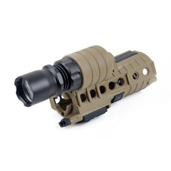 Element SF M500Aタイプ M4ハンドガードLEDライト...