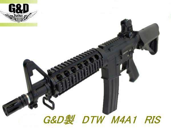 G&D DTW M4A1 RIS 電動ガン 18才以上