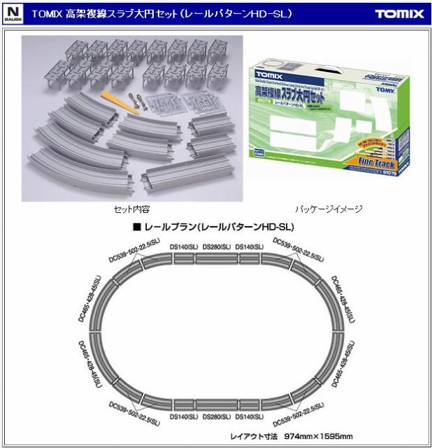 【鉄道模型(Nゲージ)】【TOMIX】91079 高架複線...