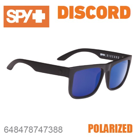 SPY スパイ DISCORD 648478747388 MATTE BLACK サ...