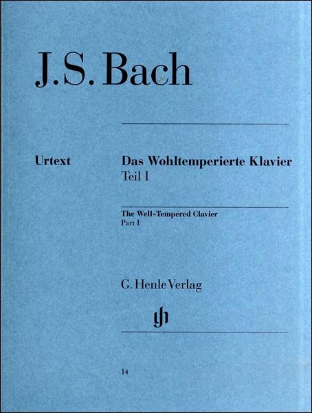 楽譜 (14)バッハ 平均律クラヴィーア曲集(1)B...