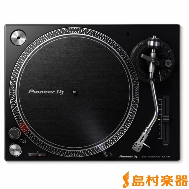 Pioneer DJ パイオニア PLX-500 ブラック ターン...