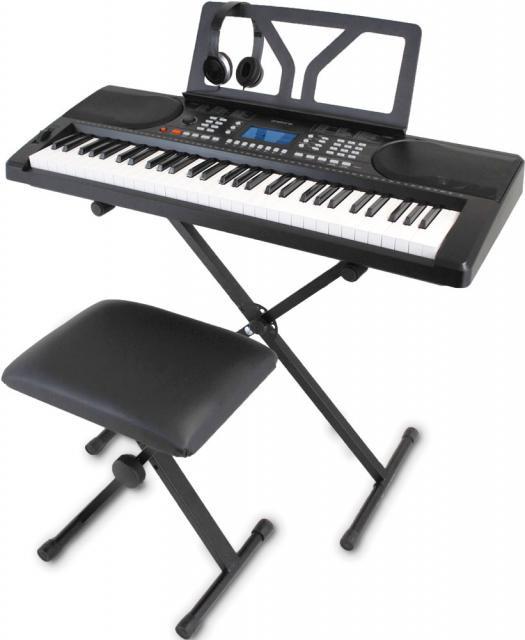 onetone ワントーン OTK-61S ブラック 61鍵盤 ス...
