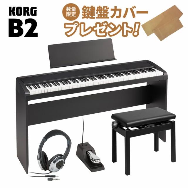 KORG コルグ 電子ピアノ 88鍵盤 B2 BK ブラック ...