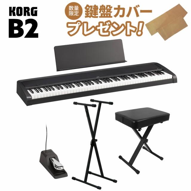 KORG コルグ 電子ピアノ 88鍵盤 B2 BK ブラック X...