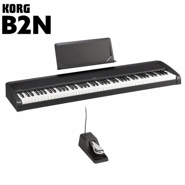 KORG コルグ 電子ピアノ 88鍵盤 B2N BK ブラック ...