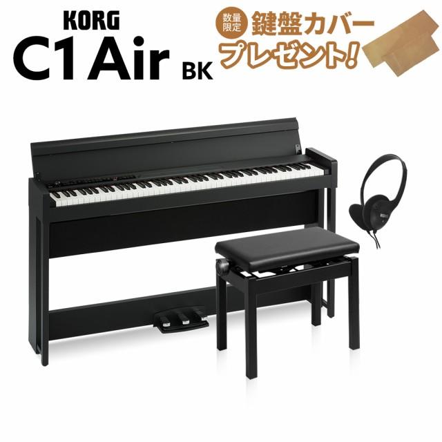 KORG コルグ 電子ピアノ 88鍵盤 C1 Air BK ブラッ...