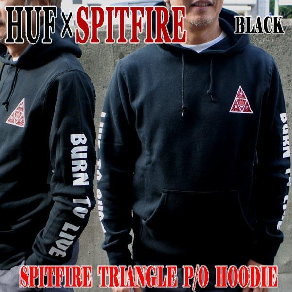 HUF/ハフ×SPITFIRE/スピットファイヤーコラボ TR...
