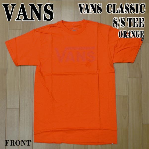 VANS/バンズ VANS CLASSIC S/S TEE FLAME メンズ ...