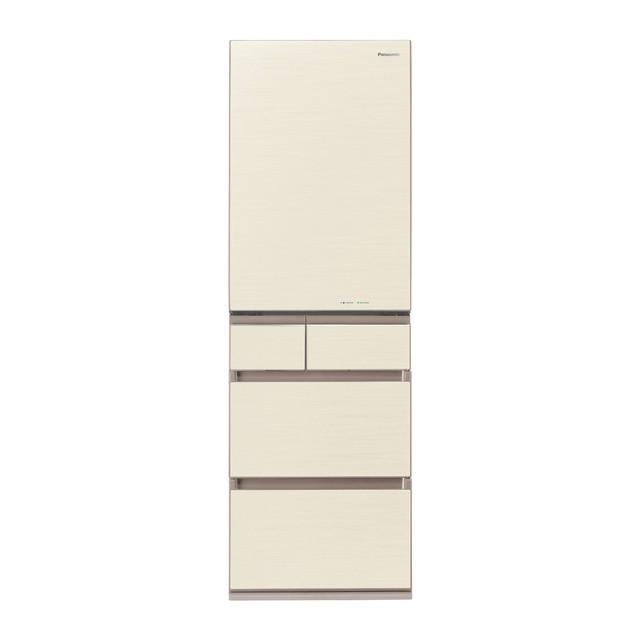 11月下旬以降の配達 基本設置無料 パナソニック450L 左開き 5ドア 冷蔵庫 NR-E454PXL-W 東京23区近郊限定配送