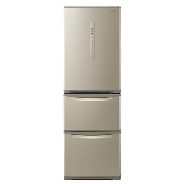 基本設置無料 東京23区近郊限定配送 パナソニック 365L 右開き 3ドア 冷蔵庫 NR-C370C-N シルキーゴールド Panasonic NRC370C