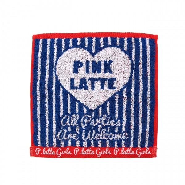 ピンク ラテ(PINK latte)/ジャカードミニタオル...