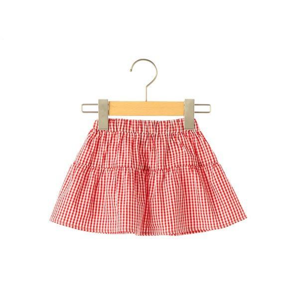 シップス キッズ(SHIPS KIDS)/SHIPS KIDS:ベビー ギンガムチェック ティアード スカート