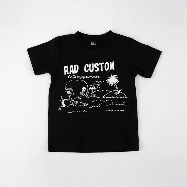 ラッドカスタム(RAD CUSTOM)/スカルサマーTシ...