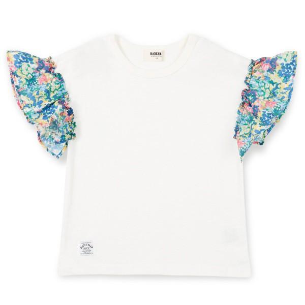 ブランシェス(branshes)/袖フリル半袖Tシャツ