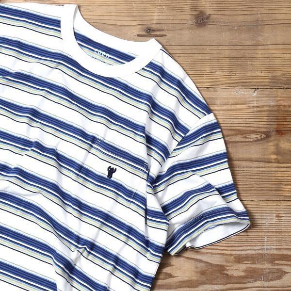 コーエン(メンズ)(coen)/サーフマルチボーダーTシャツ