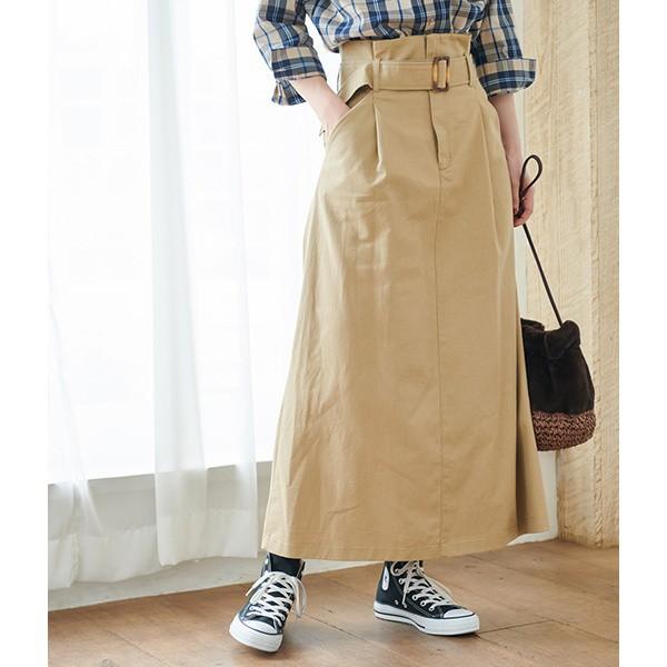 ロペピクニック(ROPE' PICNIC)/【WEB限定】ウエストマークロングスカート