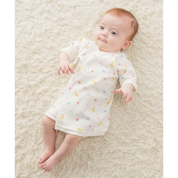 4675aa25ffc86 ミキハウス ホットビスケッツ(MIKIHOUSE HOT BISCUITS) <新生児>短肌着(スムース素材