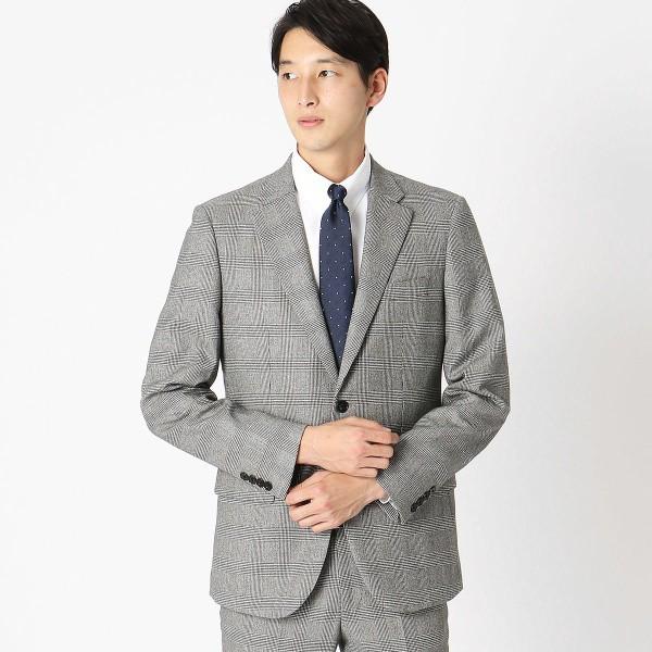 9e748cc083688 コムサイズムメンズ(COMME CA ISM) 《セットアップ》グレンチェック スーツジャケット