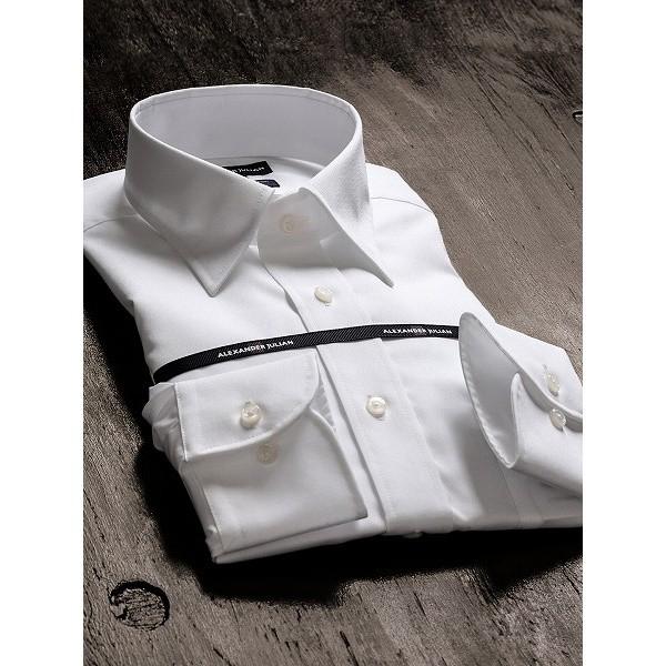 【NEW】タカキュー(TAKA-Q)/形態安定80双レギュラーフィットレギュラーカラー長袖ビジネスドレスシャツ
