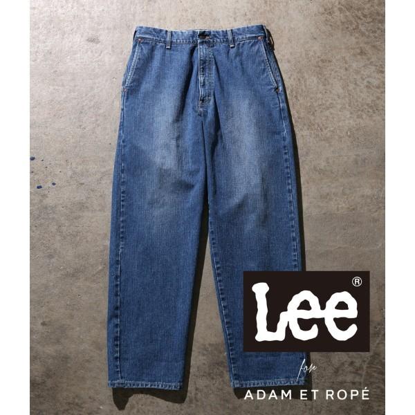 アダム エ ロペ(メンズ)(ADAM ET ROPE')/【Lee for ADAM ET ROPE 】セルビッヂワイドデニム