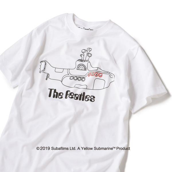 シップス Tシャツ/ (メンズ) BEATLES (SHIPS) 【Yellow Submarine】 SU: