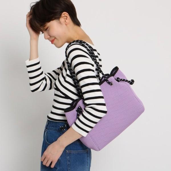 エージー バイ アクアガール(AG by aquagirl)/【WEB限定プライス】パンチングトートバッグ