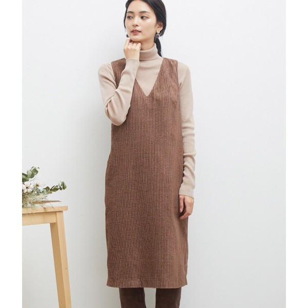 ロペピクニック/ツイードジャンパースカート
