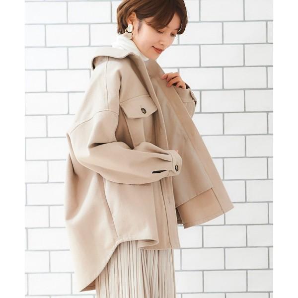 【NEW】ルクールブラン(le.coeur blanc)/CPOシャツジャケット(CPOシャツジャケット)