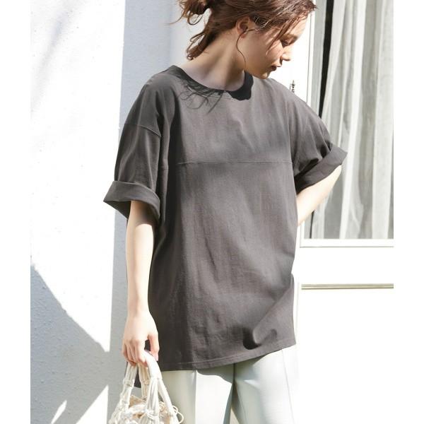 ビス(ViS)/BIGシルエットフットボールTシャツ