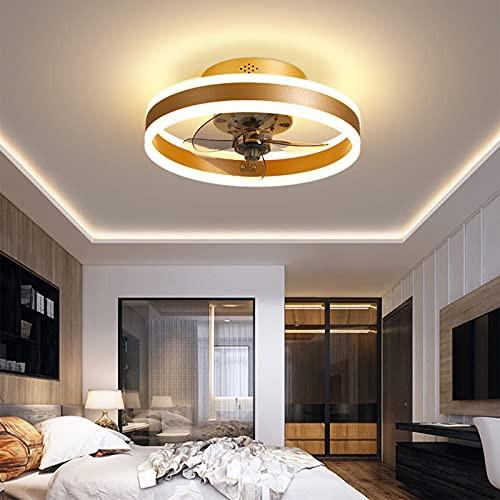 QLIGHA Modern Ceiling Fan with Lights Remote C...