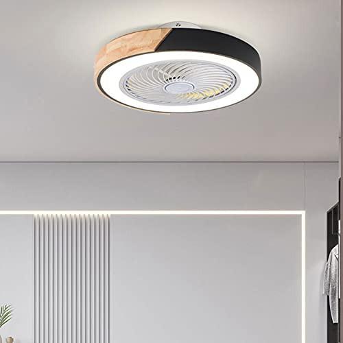 QLIGHA Invisible Fan Light LED Fan Ceiling Fan...
