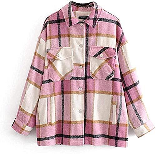 Printed Wool Coats Women Fashion Jackets Women...