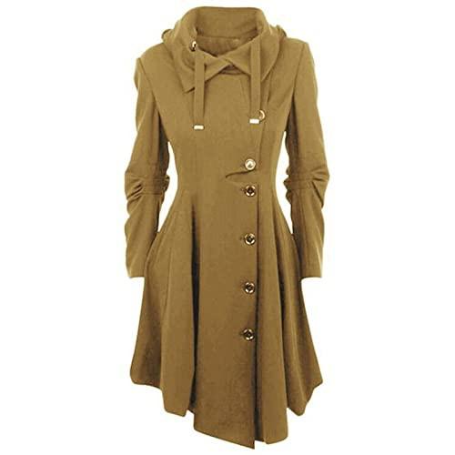 VonVonCo Long Overcoat for Women Winter Artifi...