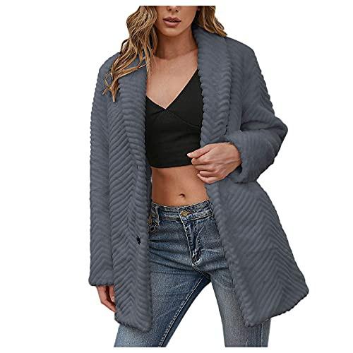 VonVonCo Long Overcoat for Women Cardigan Wint...
