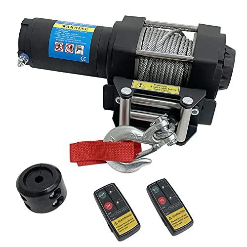 並行輸入品Cygrd Electric ATVUTV Winch12VDC 450...